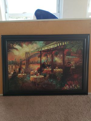 The River Cafe art - NOT FREE for Sale in Frisco, TX