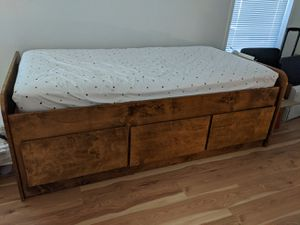 Custom Made Platform Twin Bed for Sale in Redmond, OR