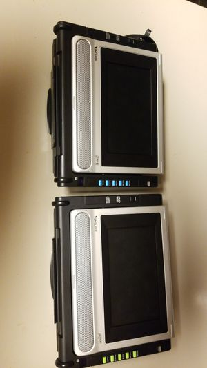 Venture Dual Portable DVD Players for Sale in Clinton, WI