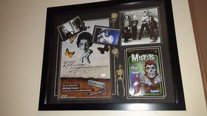 MISFITS Michale Graves SIGNED Display JSA coa for Sale in Las Vegas, NV