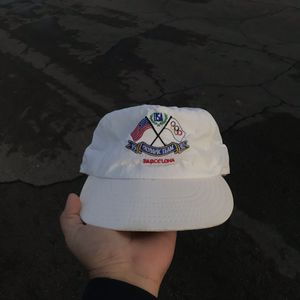 Vintage 1992 Barcelona Olympics Reebok SnapBack hat for Sale in Las Vegas, NV