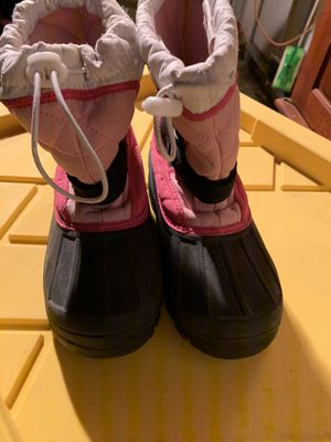 POLARIS GIRLS SNOW BOOTS SIZE 2 for Sale in Perris, CA