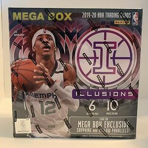 2019-20 Panini Illusions Basketball Cards NBA MEGA BOX Factory Sealed for Sale in Pasadena, TX