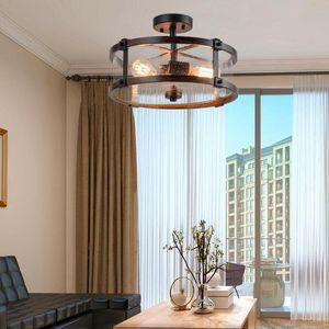 3-Light Living Room Retro Flush Mount Ceiling Light EP24265 for Sale in San Gabriel, CA