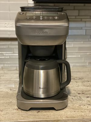 Coffee maker with the grinder 12 cups Breville for Sale in Teaneck, NJ