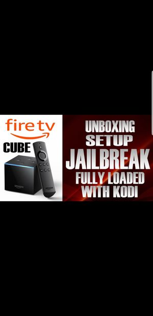 Fire tv Cube Best thing out!! for Sale in Sheffield Lake, OH