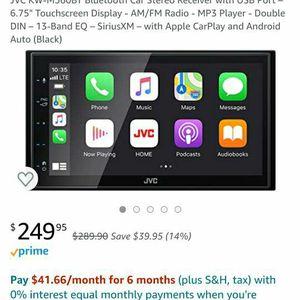 """Car Stereo System W/camera & 12"""" Sub Box for Sale in Chula Vista, CA"""