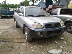 2002 HYUNDAI SANTA FE---- FOR PARTS ONLY // PARTES SOLAMENTE #6453 for Sale in Mesquite, TX