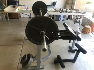 Bench press/squat rack. No weights included. for Sale in Scottsdale, AZ