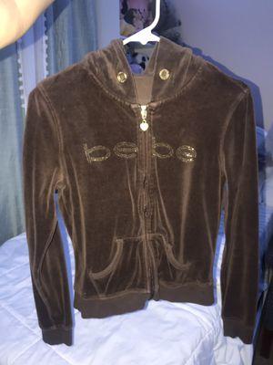 Bebe Velour Jacket (XS/S) for Sale in Las Vegas, NV
