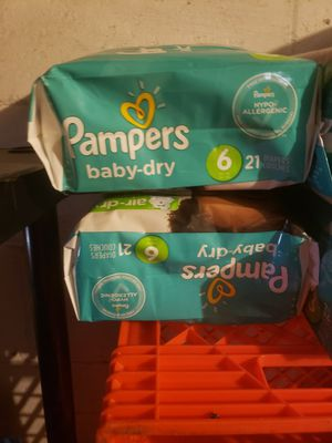 Pampers size 6 for Sale in Pittsburgh, PA