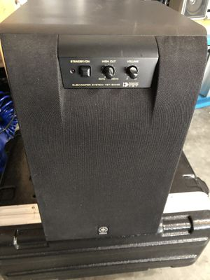 Yamaha YST-SW45 Powered Subwoofer for Sale in Bartow, FL