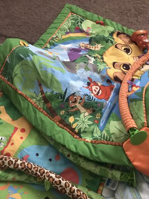 Lion king baby play mat for Sale in Castro Valley, CA