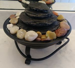 Water Fountain with Display Stones for Sale in Miramar, FL