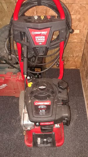 Troy built 8.75ex pressure washer for Sale in Perris, CA