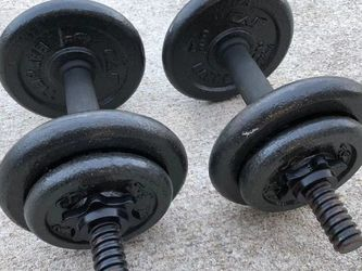 Cap iron dumbbell adjustable for Sale in Apex,  NC