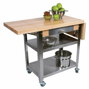 John Boos Walnut Kitchen Island for Sale in Orangevale, CA