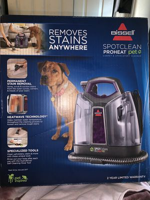 BISSEL SPOTCLEAN PROHEAT PET CARPET & UPHOLSTERY CLEANER for Sale in Queen Creek, AZ