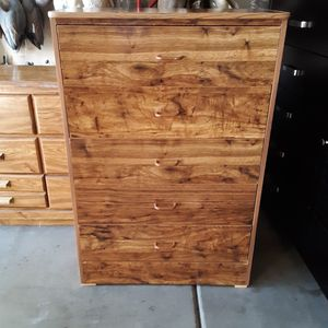 Dresser...5 drawer. good shape...44 by 30 for Sale in Sun City, AZ
