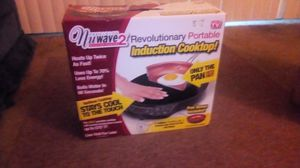 New wave 2 portibole industrial cook top never used still in box comes with a complimentary non stick pan asking $50 obo for Sale in El Cajon, CA