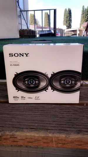 Sony 4way speakers for Sale in Prineville, OR