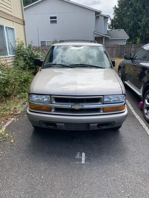 2002 Chevy Blazer LS 4WD for Sale in Federal Way, WA