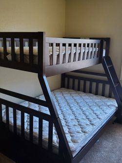 Full Size Bunk Bed And Mattress Only Used Once for Sale in Hyattsville,  MD