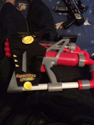 Rapid fire toy gun for Sale in Queens, NY