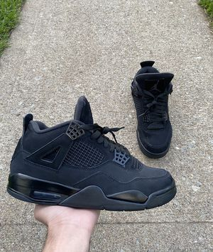 """Jordan 4 Retro """"Black Cat"""" 2020. Size 8.5 for Sale in Staten Island, NY"""
