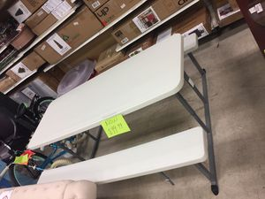 Patio table and bench for Sale in San Leandro, CA
