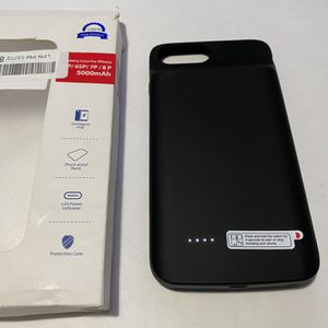 Battery Case For iPhone 8 Plus/7 Plus/6s Plus/ 6 Plus for Sale in Bellflower, CA