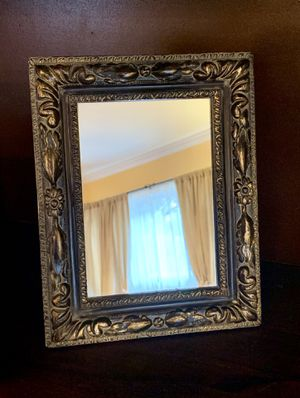 Vintage Antique Style Stand Alone Or Wall Hanging Decorative Accent Mirror for Sale in Nashville, TN