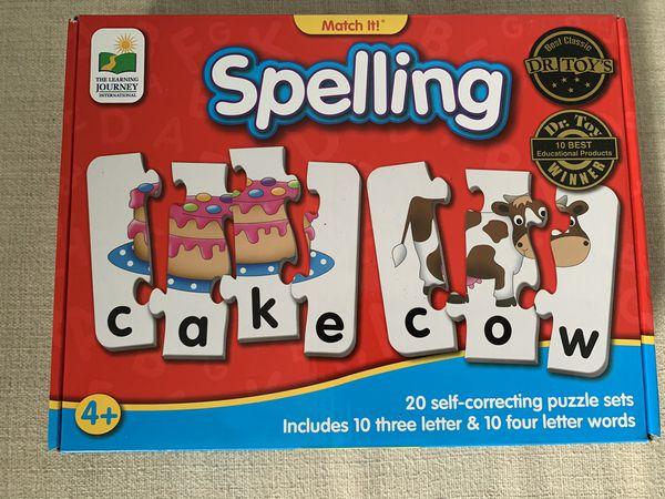 Spelling puzzle game