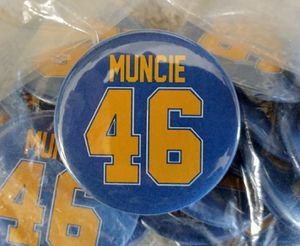 a515eda90ffb2 Lot of 24 Chargers Chuck Muncie  46 Jersey Buttons Pins for Sale in Dana  Point