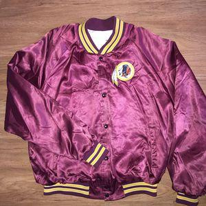 Vintage 1992 Chalk Line Redskins Satin Jacket for Sale in Alexandria, VA