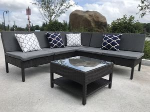 Outdoor patio furniture || CHOCOLATE (PICK UP ONLY) for Sale in DEVORE HGHTS, CA