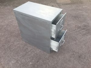 Heavy duty filing cabinet with sliding locks for the drawers. Plus adjustable dividers in each drawer for Sale in Kealakekua, HI