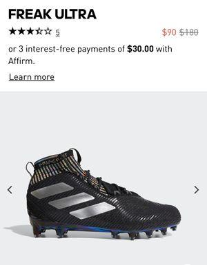 NEW Adidas Freak Ultra Primeknit Football Cleats Size 13 for Sale in Norwalk, CA