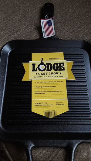 Brand New***Large griddle cast iron pan for Sale in Ruston, WA