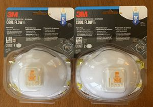 New 3M rated N95 Respirators for Sale in Ashburn, VA