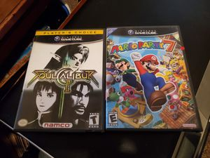 Nintendo Gamecube: Mario Party 7 and Soul Caliber II for Sale in Austin, TX