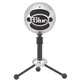 Blue Snow Ball Microphone for Sale in Lawrenceville, GA