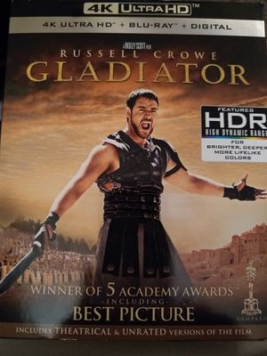 Gladiator 4K Digital Code. for Sale in Fall River, MA