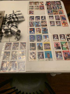 Baseball cards - Ken Griffey Jr, Barry Bonds, Cal Ripken, Mike Piazza for Sale in Longwood, FL