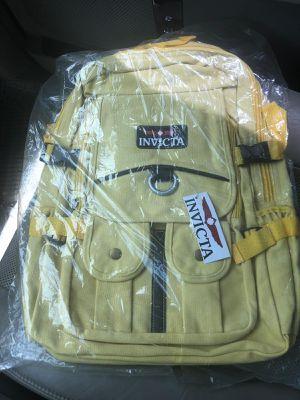 Invicta backpack original yellow for Sale in Miami, FL