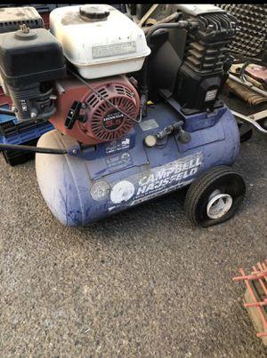 Honda 5.5 Motor 20 gallon air compressor for Sale in Fresno, CA