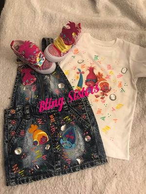 Trolls inspired outfit! for Sale in Randallstown, MD