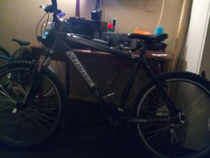 Specialized mountain bike 26'' xl hard rock with rst front shocks for Sale in Salt Lake City, UT