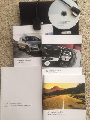 2017 Audi Q5 Manual Set for Sale in Arlington, VA