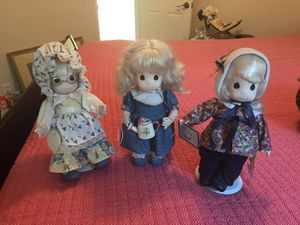 3 precious moments dolls for Sale in Fullerton, CA
